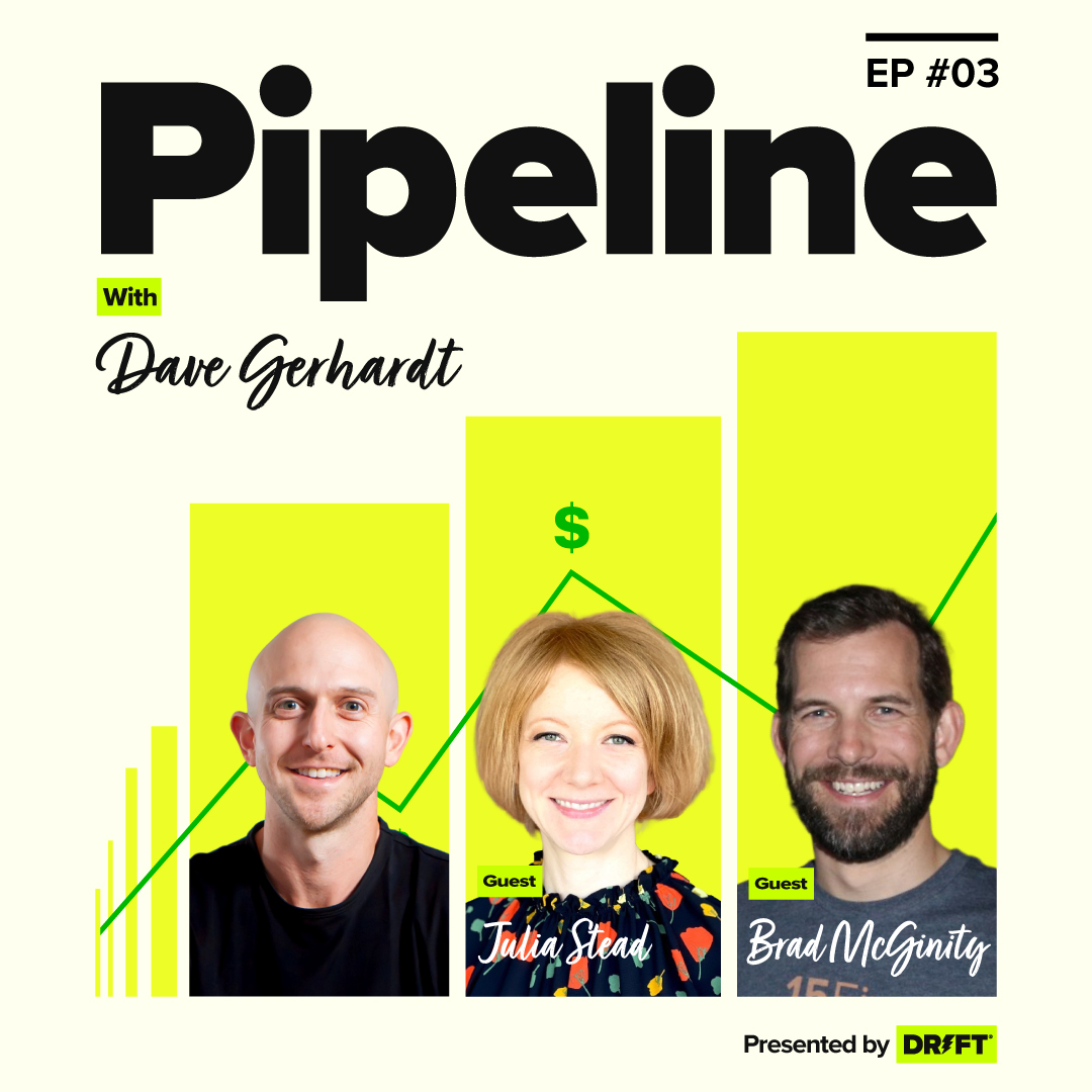 Building Pipeline Through Brand with 15Five CRO Brad McGinity + CMO Julia Stead
