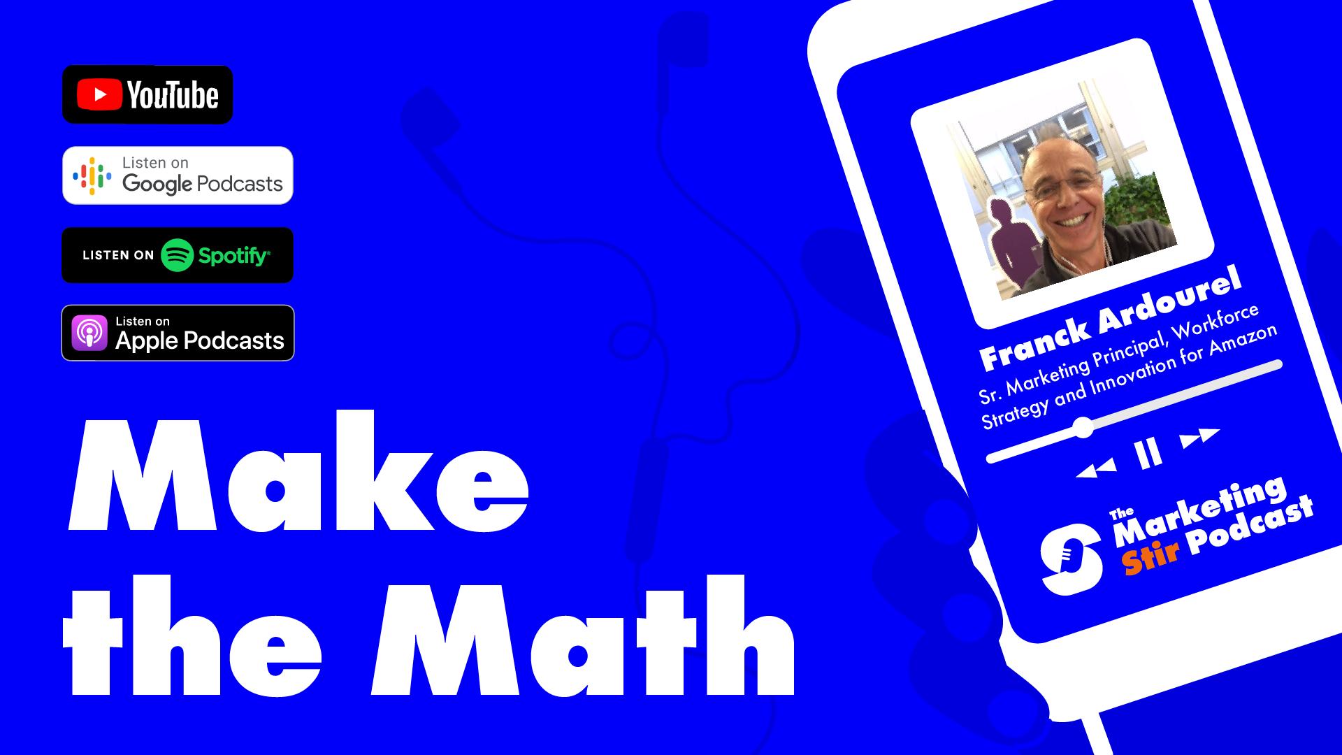 Franck Ardourel (Amazon) - Make the Math
