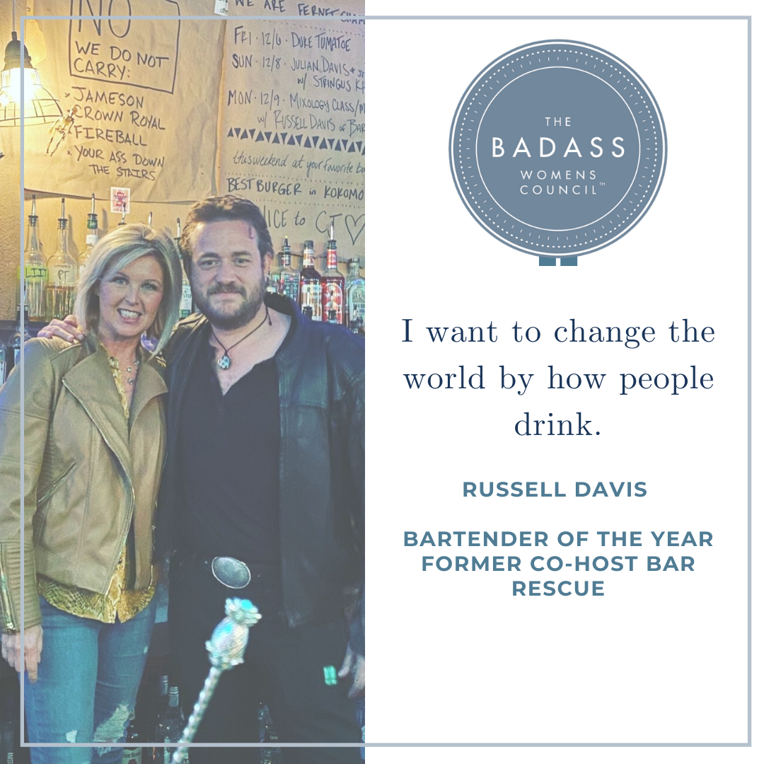Changing the World by How People Drink with Russell Davis
