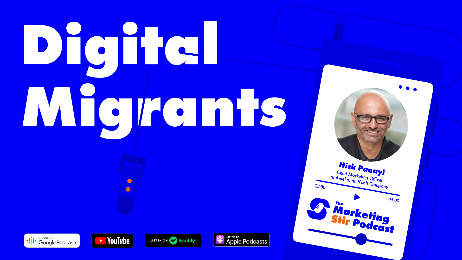 Nick Panayi (Amelia) - Digital Migrants