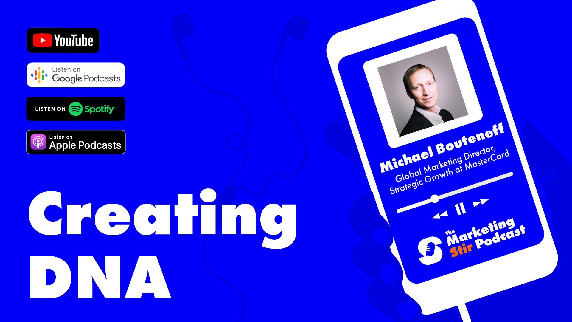 Michael Bouteneff (Mastercard) - Creating DNA