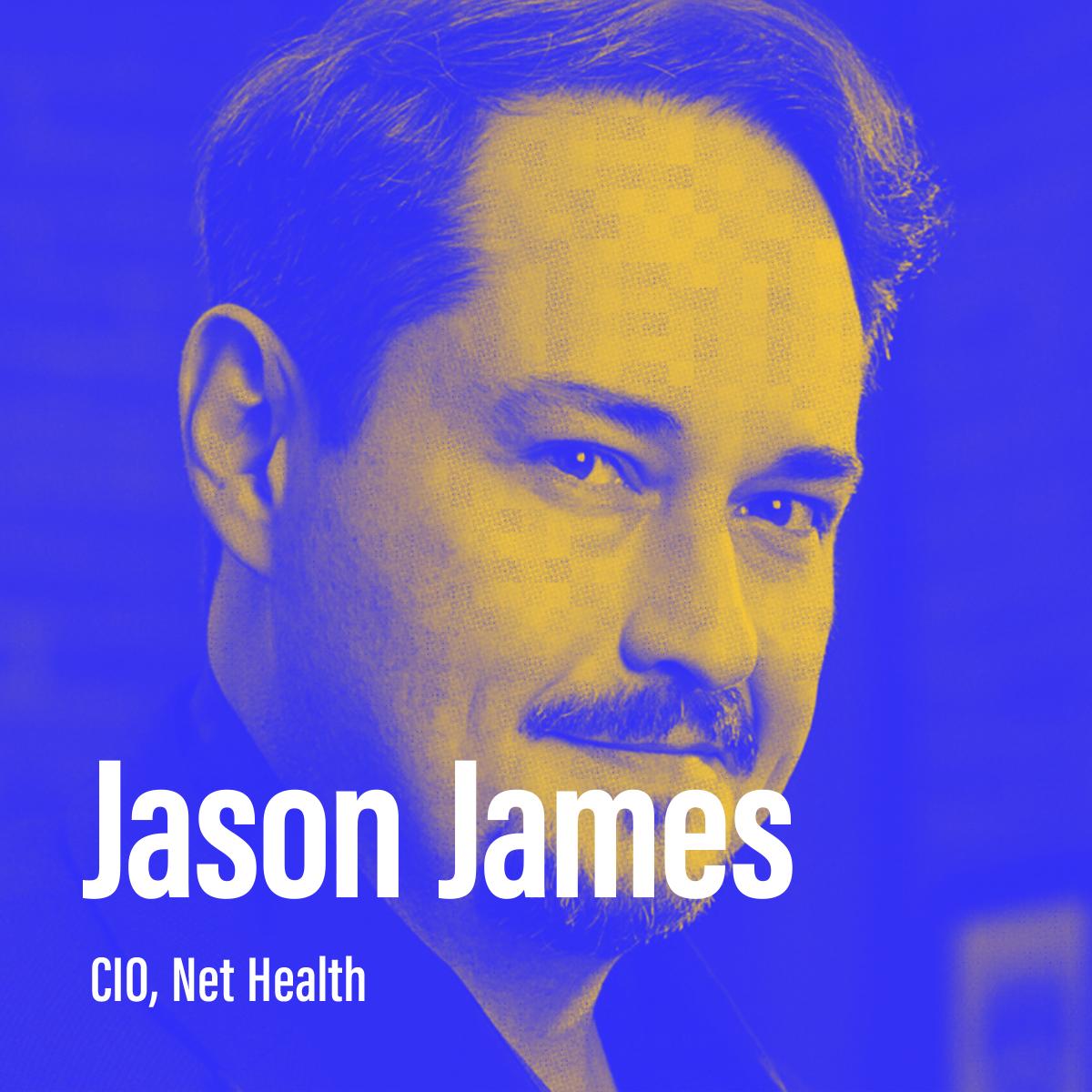 "Season 2, Episode 5 - ""How do I humanize IT?"" with Jason James, CIO at Nethealth"