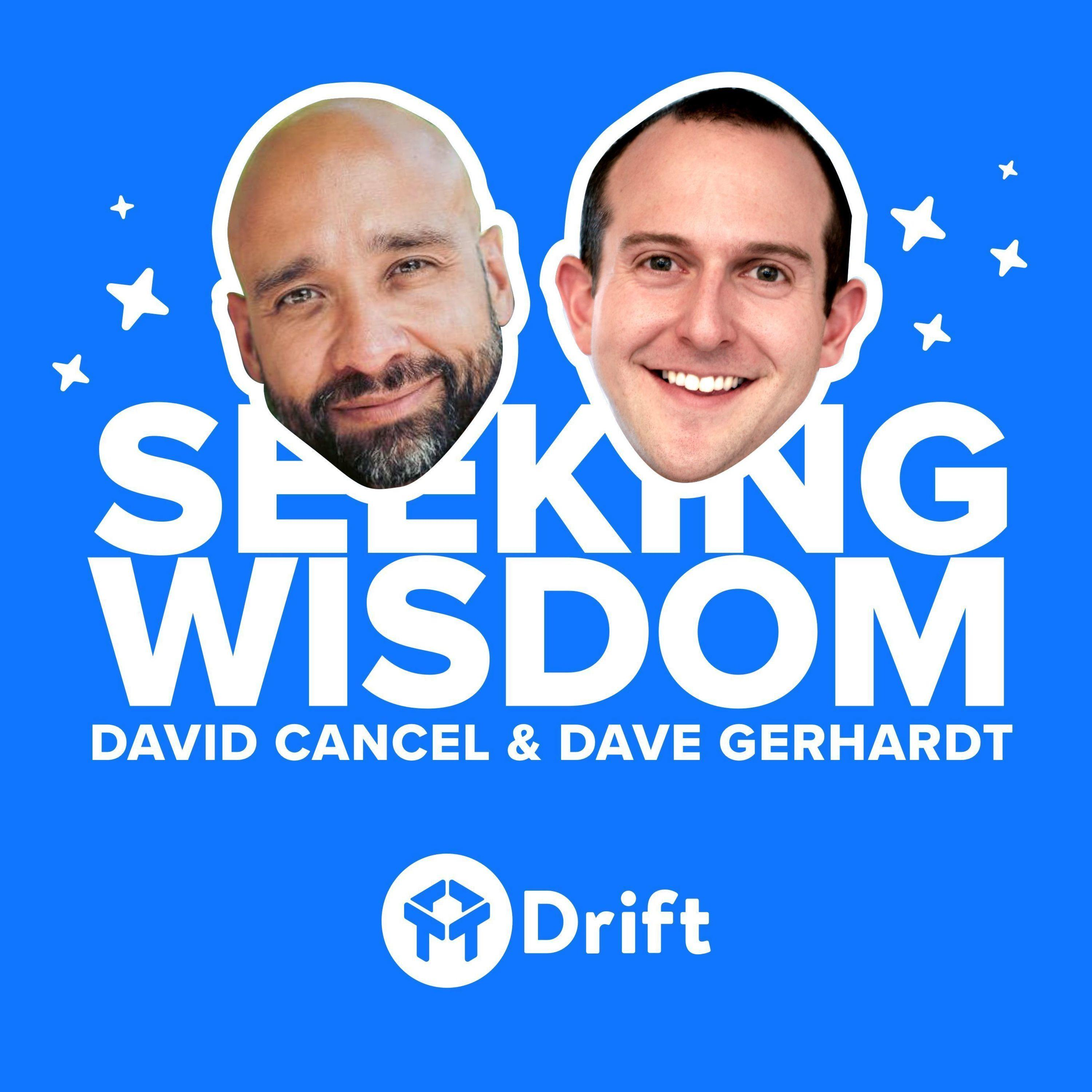 A Very Special Message From DC & DG (We're Bringing You More Seeking Wisdom)