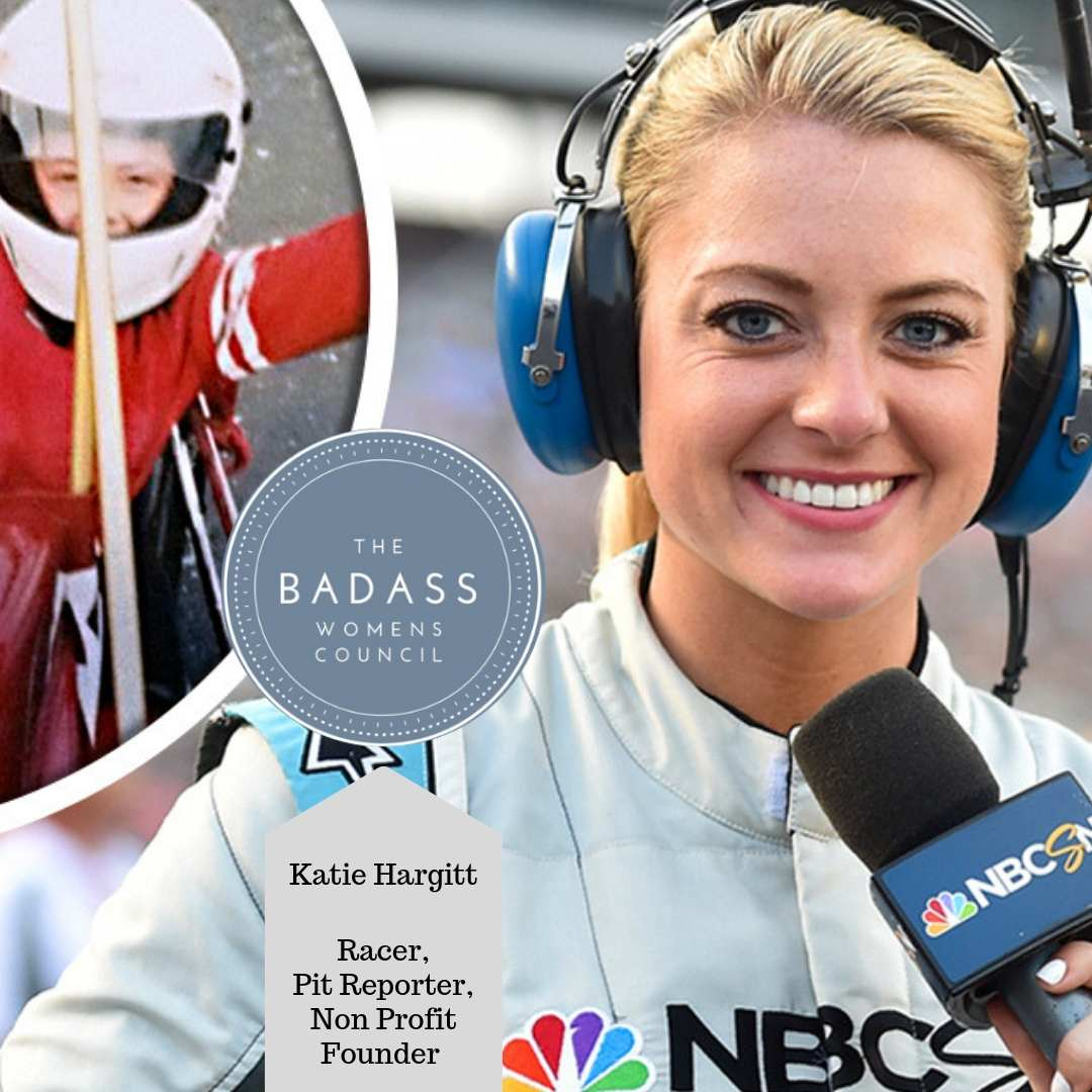 Motorsports Reporter Katie Hargitt is Out to Fuel the Female