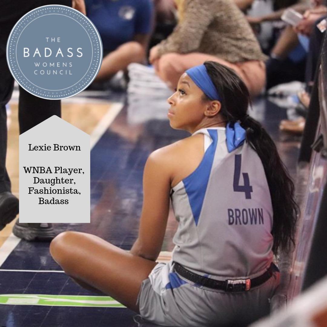 WNBA Player Lexie Brown Talks Connection