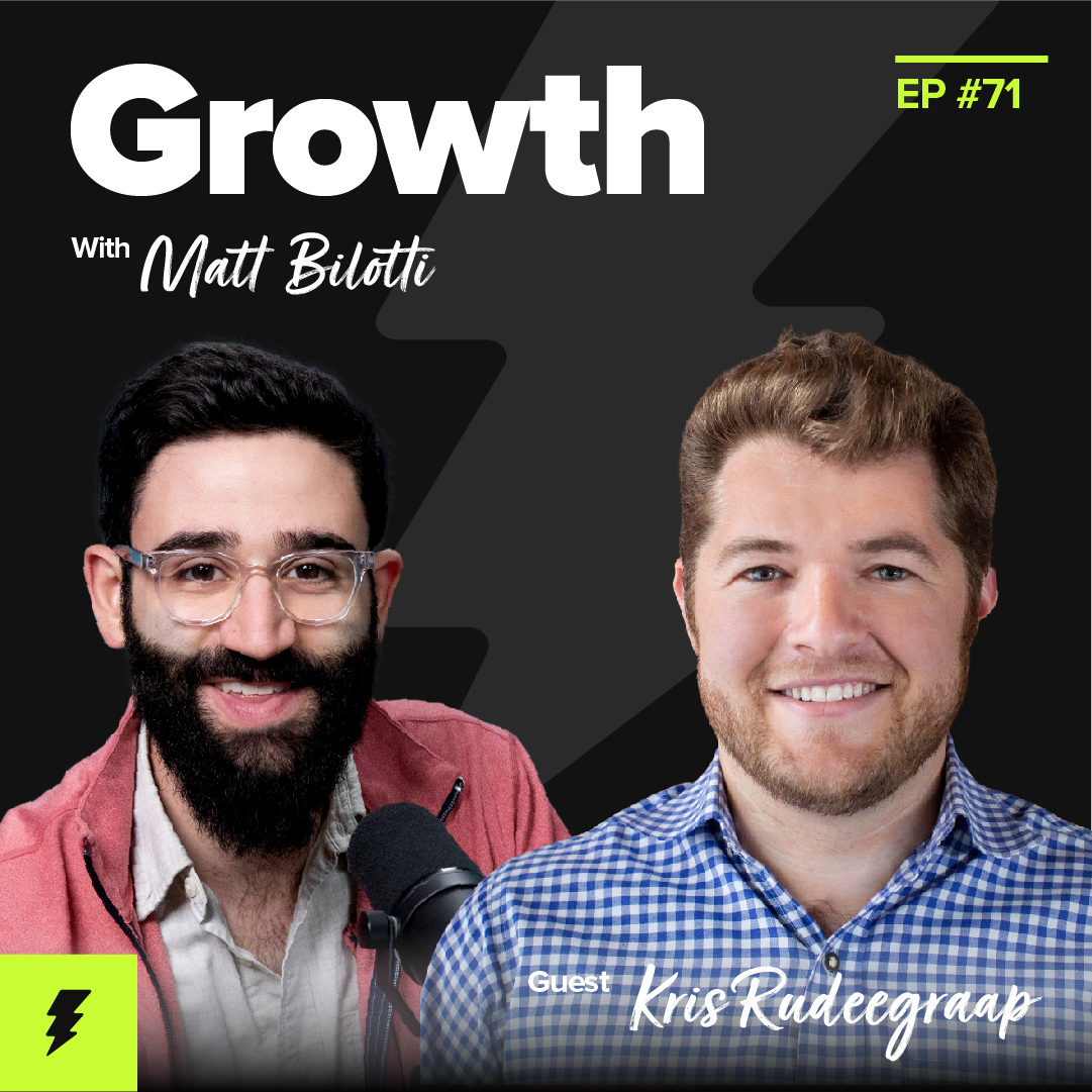 Leveraging Your Network as a Growth Channel (w/ Kris Rudeegraap, CEO and Co-Founder of Sendoso)