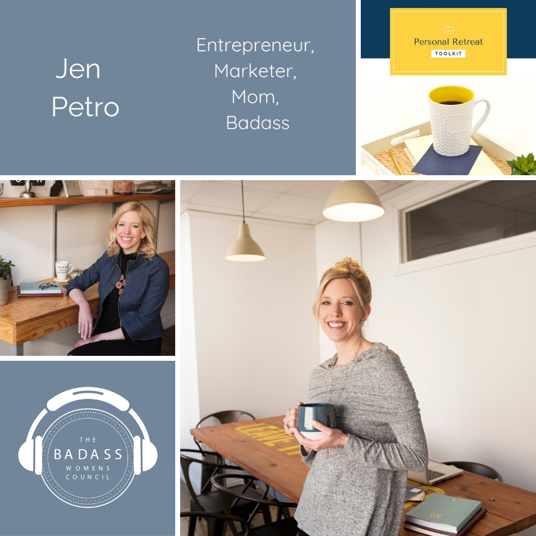 Taking a Personal Retreat for Reflection and Planning with Jen Petro